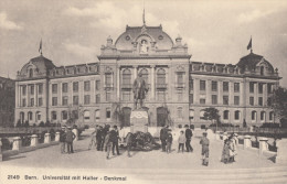 CPA - Bern - Universitât Mit Haller - Denkmal - BE Berne