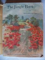 "Livre Ancien ""The Jungle Book"" De Rudyard KIPLING - 1925 - Enfants"