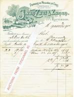 Brief Geillustreerd 1904 ROTTERDAM - GOUDA -STADSVEST - J. VAN ZWET & ZONEN - Fromages De Hollande En Gros - Pays-Bas