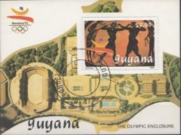 Blok Guyana 1989  Oblitérés / Used / Gestempeld - Summer 1992: Barcelona