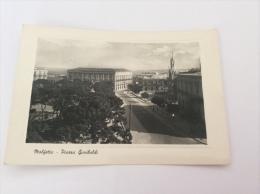 MOLFETTA - Piazza Garibaldi - Cartolina FG BN V 1951 - Molfetta