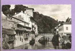 64 - SAINT JEAN PIED DE PORT - Vieilles Maisons Sur La Nive - Photo Véritable - Saint Jean Pied De Port