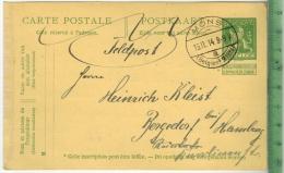 Mons, Feldpost 1. WK 1914 - Ganzsachen