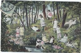 Bébés/ Carte Humoristique/Fillettes/Ruisseau Et Forêt/Pont De L'Arche / Eure/ KVIB12 / 1906   HUM5 - Humorkaarten