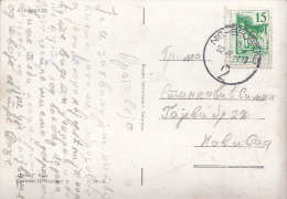 TPO,PPC WITH RAILWAY CANCEL 2 NIS-BEOGRAD - 1945-1992 Socialist Federal Republic Of Yugoslavia