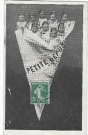 Bébés/ Carte Humoristique/Bébés DansJournal/La Petite République Socialiste/pont L'évéque/Calvados/1909   HUM9 - Humorkaarten