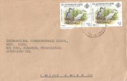 Seychelles 1992 Victoria Zil Elwannyen Sesel Egret Bird Cover - Seychellen (1976-...)