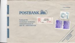 Aangetekende Envelop 21 Jun 1993 Arnhem Lange Wal (typerader Openbalk) - Postal History