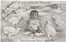 Bébés/ Carte Humoristique/Les Poussins Du Rameau /Bébé Marguerite Prévost /Vers 1910   HUM13 - Humorkaarten