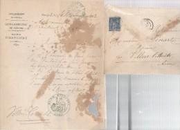 Maire D'HARCIGNY.érection D´une Statue D´alexandre DUMAS,en 1884.à VILLERS-COTTERETS. - Documenti Storici