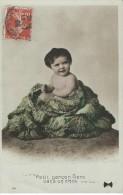 Bébés/ Carte Humoristique/Petit Garçon Vient Dans Un Chou /Thomars / Deux Sévres / 1909  HUM17 - Humorkaarten