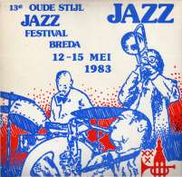 * LP *  13th OLD STYLE JAZZ FESTIVAL BREDA (Holland 1983 EX!!!) - Jazz