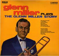 * LP *  GLENN MILLER Plays THE GLENN MILLER STORY (Germany EX-!!!) - Jazz