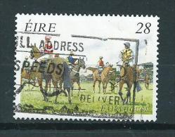 1996 Ireland Horse Races 28p. Cheval,pferde Used/gebruikt/oblitere - 1949-... Republiek Ierland
