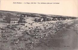 80 RARE FORT MAHON LA PLAGE COTE SUD VUE AERIENNE PRISE PAR CERF VOLANT - Fort Mahon