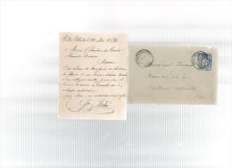 Lettre Signée Mildé.érection D´une Statue D´alexandre DUMAS,en 1884.à VILLERS-COTTERETS. - Historical Documents