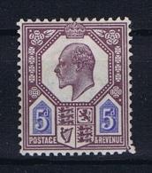 Great Britain SG 242 MH/* , Right Bottom Corner Perf. Dam. - 1902-1951 (Koningen)
