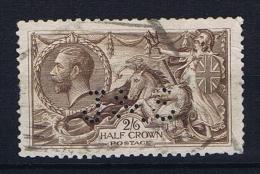 Great Britain SG 413a Used, Yvert 153, PERFIN   J & S - 1902-1951 (Koningen)