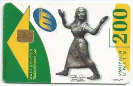 F.Y.R.O.M. Macedonia Phonecard With Chip 1998. - Macedonië