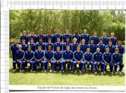 RUGBY - CHAMPIONNAT Du MONDE De RUGBWY Des Moins De 20 Ans - Du 5 Au 23.06.2013 à  LA ROCHE SUR YON   -  85 - Rugby