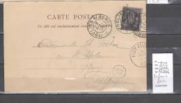 Lettre   Ambulant Moulins à Paris : Indice 6 - Postmark Collection (Covers)