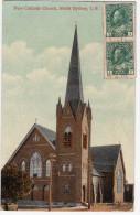 North  SIDNEY    NEW  CATHOLIC CHURCH C B Nouvelle Eglise Catholique De Sydney 2  Timbres Canada 1 Cent Non Oblitéré - Other