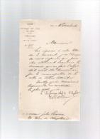 Chemin De Fer Du Nord.l'ingénieur En Chef.érection D´une Statue D´alexandre DUMAS,en 1884.à VILLERS-COTTERETS. - Historical Documents