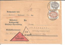 W097/ Nachnahme Amtsgericht Neusalza Mit Berechtigungsvermerk - Deutschland