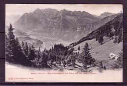 AK SPEER -Alp Unterkäsern M. Blick A. D. Glarneralpen Karte N. Gel. Ca 1920 - SG St. Gallen