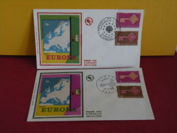 FDC- Europa CEPT - Paris/67 Strasbourg - 27.4.1968 - - Europa-CEPT