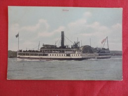 Sirius  Iron Steamboat Ca 1910   Not Mailed    Ref 1244 - Paquebots