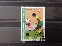 Sao Tomé En Principe - WK Voetbal (25) 1982 - Sao Tome En Principe