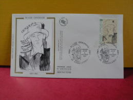 FDC- Blaise Cendrars - 92 Courbevoie - 6.11.1987 - 1er Jour, - 1980-1989