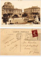 MONTPELLIER - Préfecture Et Hotel Des Postes Et Télégraphes - Rare Belle Flamme (65381) - Montpellier