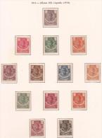GUI98-L4146TAN.Espagne.Spain .Guinee.GUINEA ESPAÑOLA .ALFONSO XIII. 1914.(Ed 98/110**)RARA - Nuevos