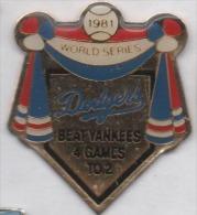 Baseball , Dodgers , Beat Yankees - Honkbal