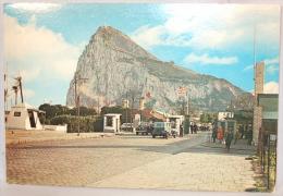 Gibraltar. Le Roché. Poste De Frontière Anglais Et Espagnol. - Gibraltar