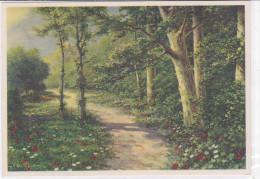 CARD BERTIGLIA PAESAGGIO PRIMAVERILE   FG-N-2-0880-20046 - Bertiglia, A.