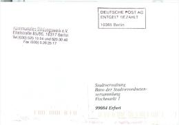 BRD Berlin Entg. Bez.-Stempel1997 Kommunales Bildungswerk - BRD
