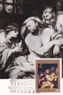 Carte Maximum HONGRIE  N°Yvert 2100 (Giovanni Battista LANGETTI - Le Rêve De Joseph) Obl Ill 1er Jour - Cartes-maximum (CM)