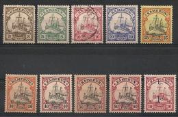 Cameroun Allemand. Kamerun . 1900-1915. Oblit. Et Neufs * MH - Colonia: Camerun