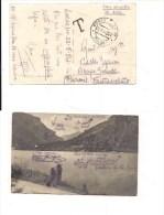 $3-3580 RSI FONTANELLATO PARMA 1944 ANNO FASCISTA SCALPETTATO TASSATA. - 4. 1944-45 Repubblica Sociale