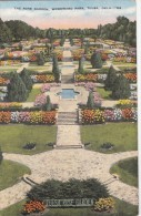 P3241 USA Tulsa Oklahoma The Rose Garden Woodward Park   Front/back Image - Tulsa