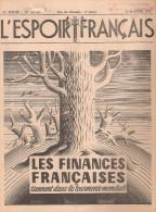 LOT FINANCE FRANCAISE ECONOMIE SITUATION FRANCE POLITIQUE INDUSTRIELLE ECONOMIQUE GUERRE 1940 1944 OCCUPATION VICHY