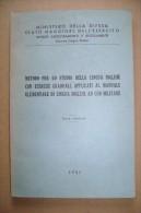 PCD/25 METODO STUDIO LINGUA INGLESE Ad Uso MILITARE Stato Maggiore Esercito 1951 - Italiano