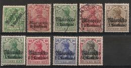 Maroc. Marocco. Marokko. Bureaux Allemands. Oblit. Et Neuf * MH - Deutsche Post In Marokko