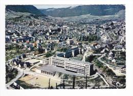 48 MENDE N°49 98 Très Belle Vue Générale Aérienne Lycée CHAPTAL Voir ZOOM Terrain De Basket En 1966 - Mende