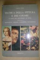 PCD/30 Linzi TECNICA PITTURA A Olio E DEI COLORI Hoepli 1966/dipingere - Decorazione