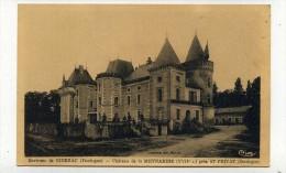 CP , 24 , Environs De RIBERAC , Château De La Meynardie Près De Saint-Privat - Riberac