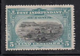 Belgian Congo MH Scott #14 5c Port Matadi - Hinge Remnant - Congo Belge